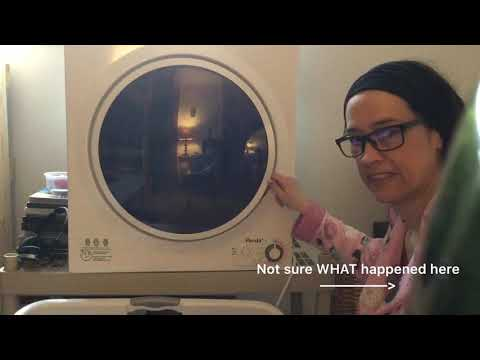Review of the Panda PAN760SF 3.75 cf Compact Dryer
