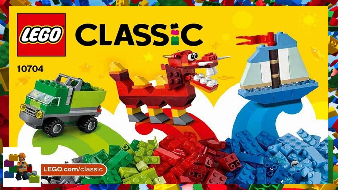 e22de019824 LEGO instructions - Classic - 10704 - Creative Box - YouTube