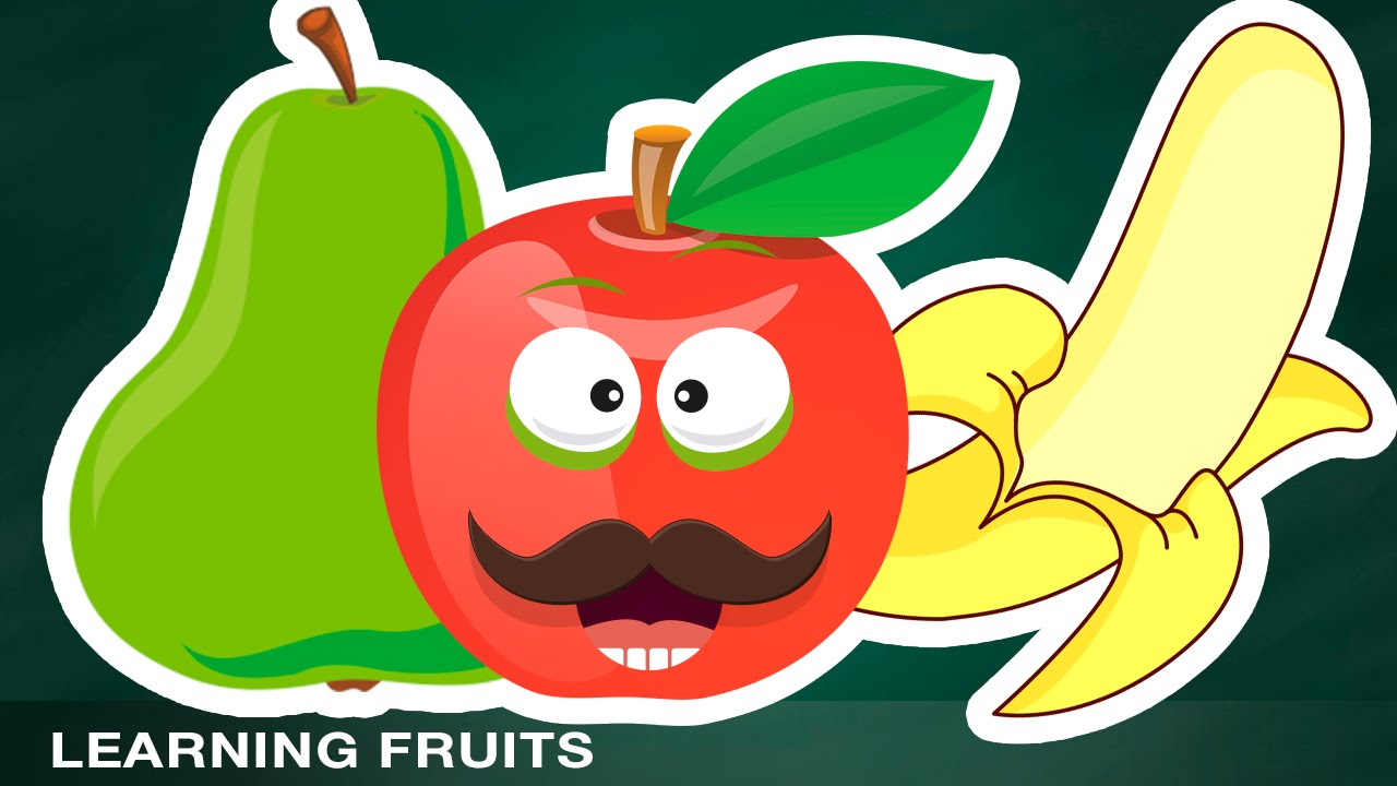 Learning Fruits Names Sounds For Kids