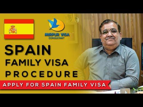 Spain Family Visa || Settlement Visa Abroad || Spanish Settlement Visa