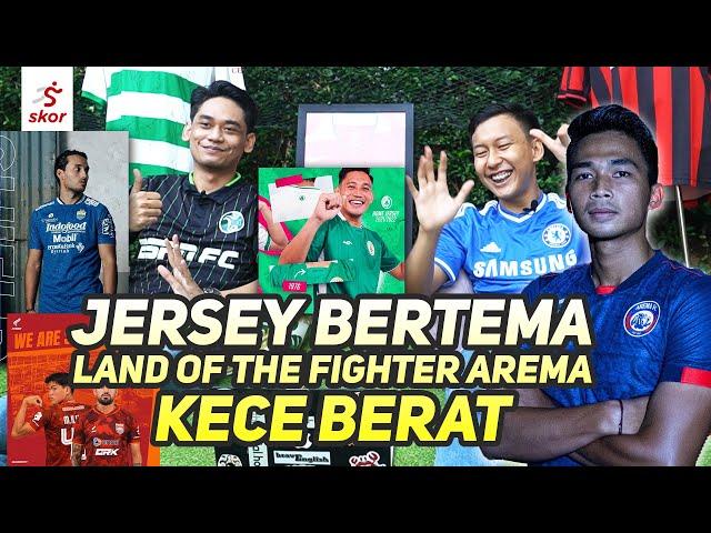 Semua Jersey Klub Liga 1 Penuh Makna!! Mana yang Paling Keren? |  Cerita Jersey Eps. 6