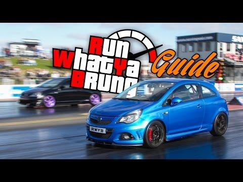 Run What Ya Brung guide for Santa Pod Raceway