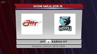 JHT - Karhu HT 28.10.2018 maalikooste