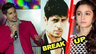 Sidharth Malhotra's Reaction On His BREAKUP With Alia Bhatt