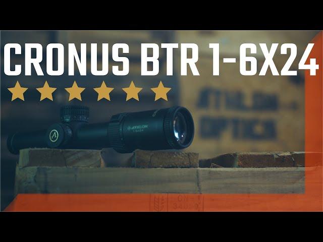 Cronus BTR 1-6x24 from Athlon Optics