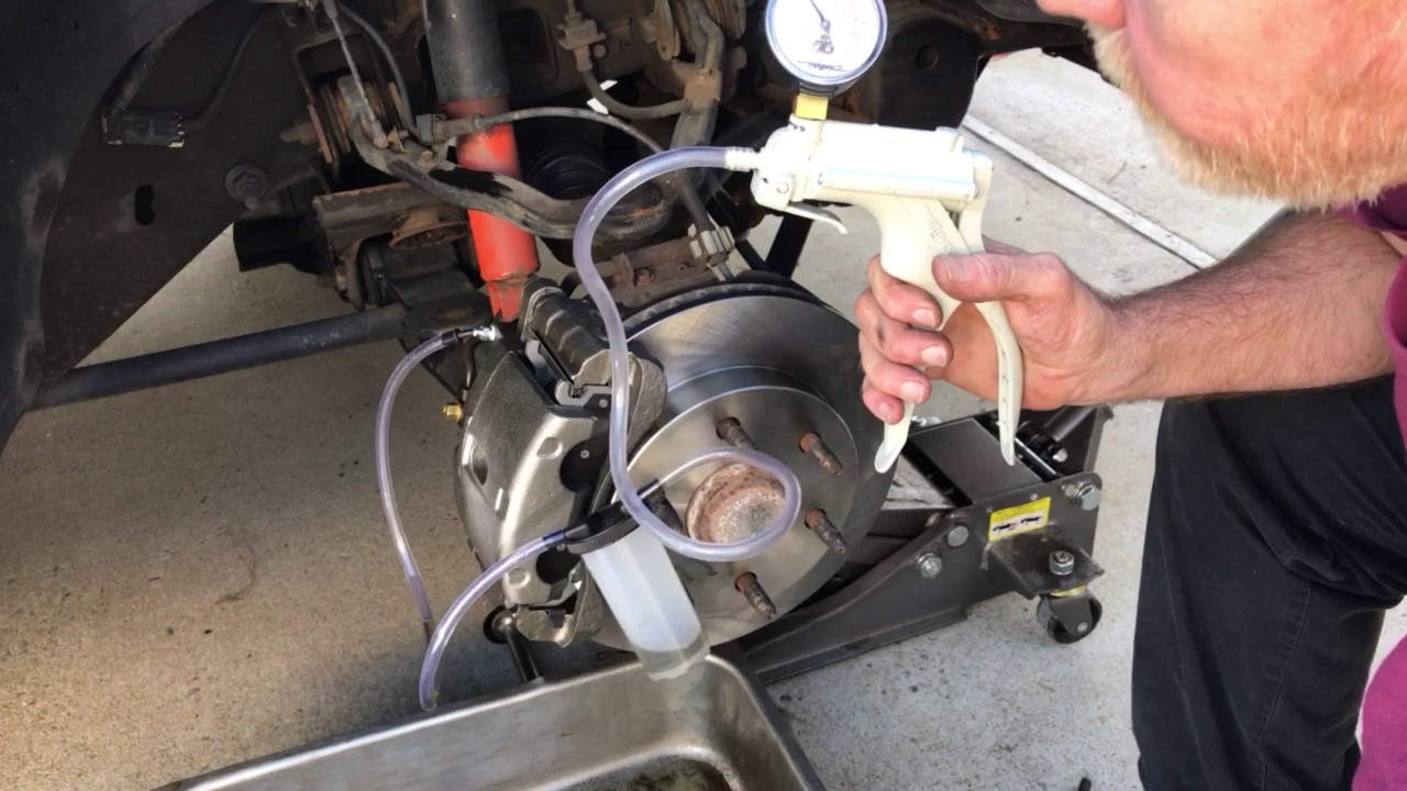 How Do You Bleed Brakes >> Bleeding Brakes With A Vacuum Pump