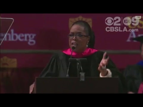 LIVE: Oprah Winfrey Delivers USC Annenberg Commencement Address