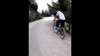 Denizli Çamlık Seyir Tepesi Bisikletle İniş