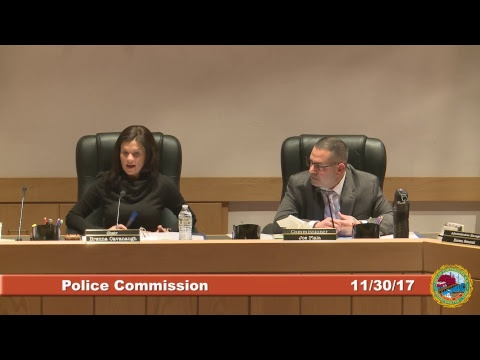 Police Commission 11.30.2017