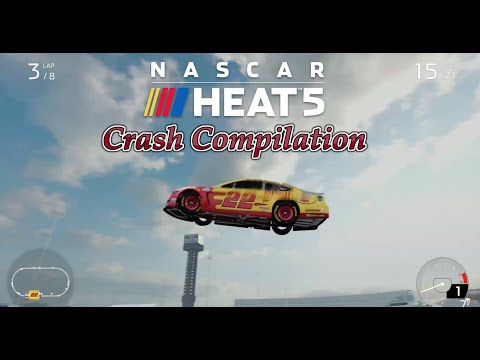 Nascar Heat 5 Crash Compilation #1 |