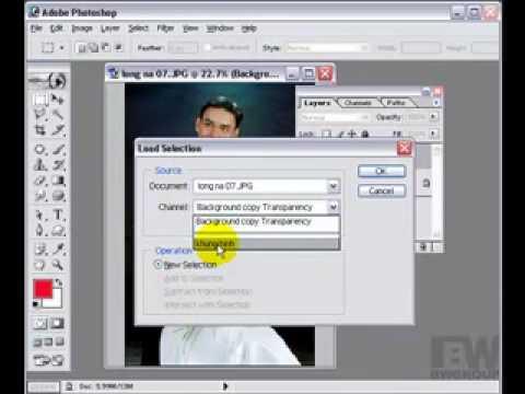 Lớp xử lý ảnh cưới-Sử dụng channels photoshop http://HocPhotoshop.Com