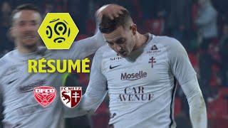 Dijon FCO - FC Metz (1-1)  - Résumé - (DFCO - FCM) / 2017-18