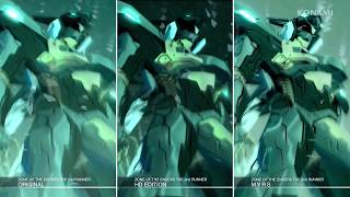 [ZONE OF THE ENDERS The 2nd RUNNER : M∀RS] Game Screen Comparison Trailer (ESRB)