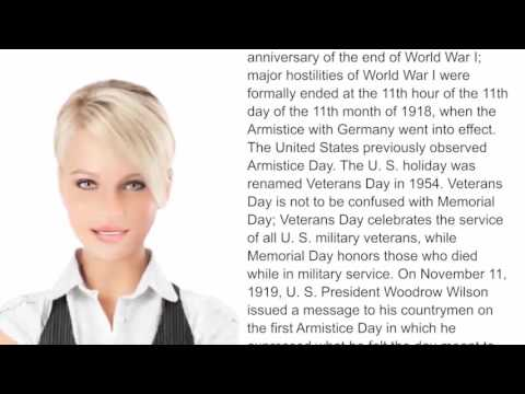 Veterans Day - WikiVideos