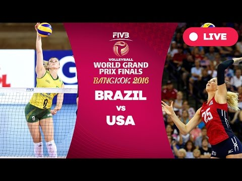 Brazil v USA - Finals: 2016 FIVB Volleyball World Grand Prix