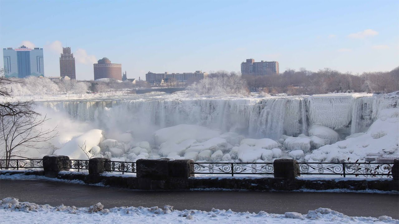 Free Wallpaper Niagara Falls Niagara Falls Frozen 2015 Youtube