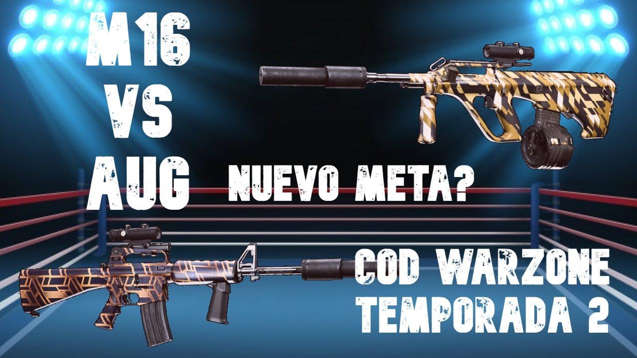 Download AUG vs M16 ¿Cuál es la mejor arma de ráfagas después del parche 1.33? ¿NUEVO META? Mejor clase