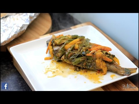 Foil Roasted Fish /Jamaican Foil Roast Fish Jamaican Roast Fish In Oven | Recipes By Chef Ricardo