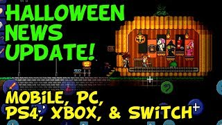 Terraria October State of the Game Update (Mobile, PS4, PC, and more!)
