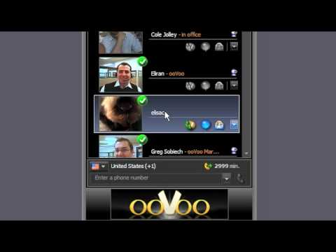 How to set up video calls on ooVoo