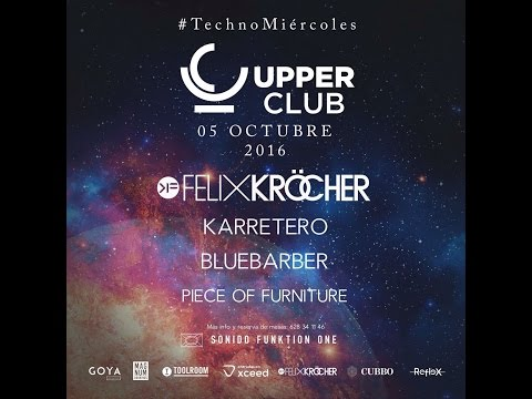 Piece Of Furniture @ Upper Club MADRID 05/10/16