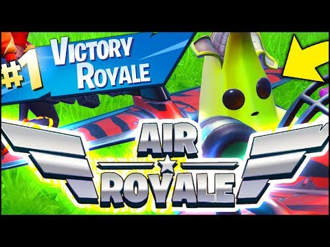 Fortnite *NEW* AIR ROYALE LTM VICTORY ROYALE GAMEPLAY (Fortnite Battle Royale)