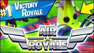 Fortnite *NEW* AIR ROYALE LTM VICTORY ROYALE GAMEPLAY (Fortnite Battle Royale)
