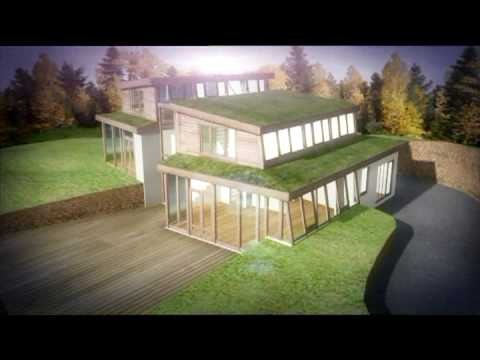 3d Model Of Ecological Low Energy Eco Friendly House By Www.milessampson.com/geomorphologicalhouse.html