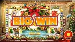 BIG WIN On Foxin' Wins A Very Foxin' Christmas Slot Machine from Nextgen