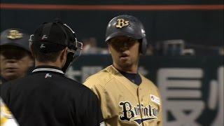 【プロ野球パ】ナカジ怒る!続けて2度の死球には我慢ならず 2015/05/20 H-Bs thumbnail