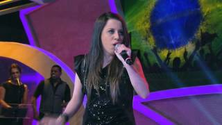 Programa Raul Gil - Karen Mattos (Lead me to the cross) - Jovens Talentos - #JT2013