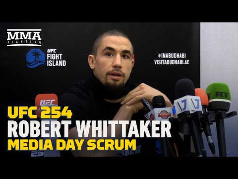 UFC 254: Robert Whittaker: 'I'm Better Across The Board' Than Jared Cannonier - MMA Fighting
