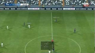 PES 2012 (Real Madrid vs FC Barcelona Gameplay)