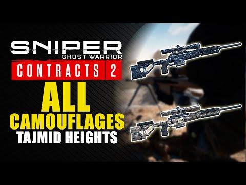 Sniper Ghost Warrior Contracts 2 guía - Dónde encontrar los 2 camuflajes de los Altos de Tajmid
