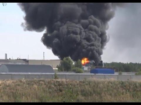 Взрыв и пожар на военном заводе в Дзержинске, есть жертвы