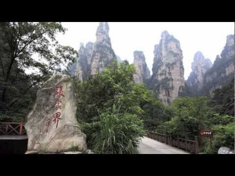 Mountains in Zhangjiajie - Cina - UNESCO World Heritage Site