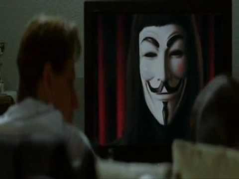 Guardarsi allo specchio v per vendetta buonasera londra flv youtube - Occhiali per truccarsi allo specchio ...
