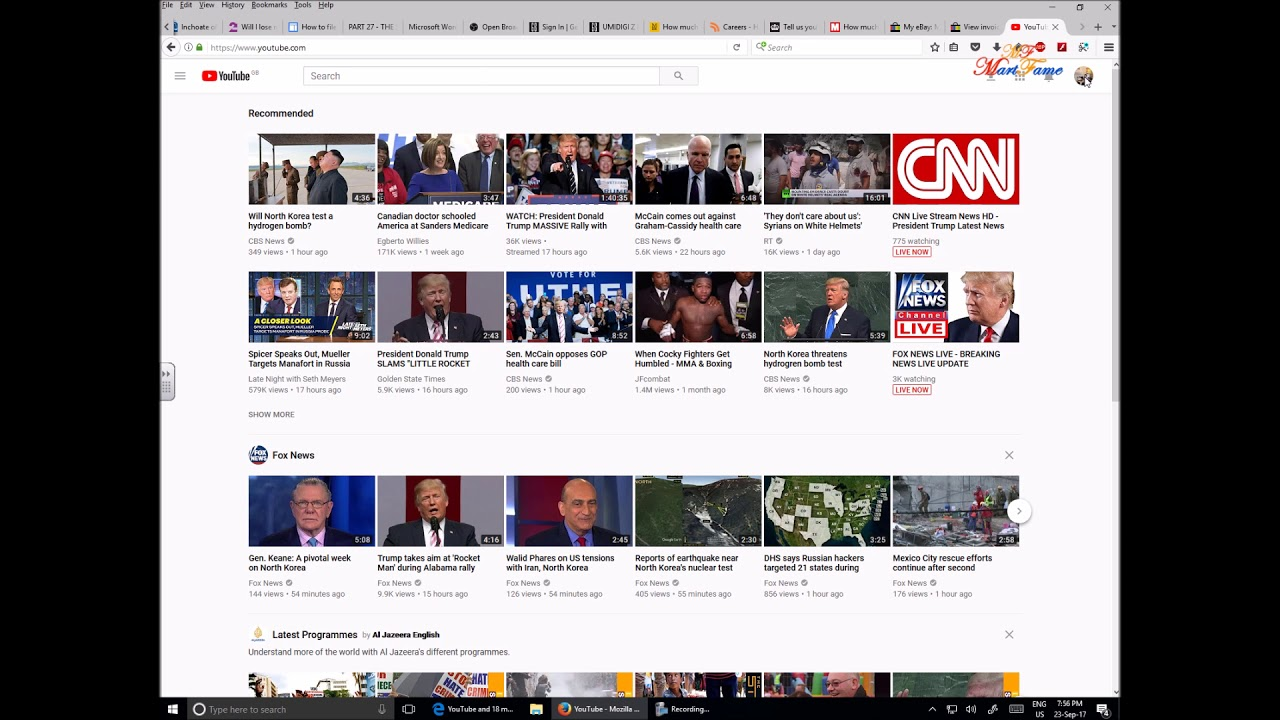 youtube videos not playing properly in google chrome and firefox