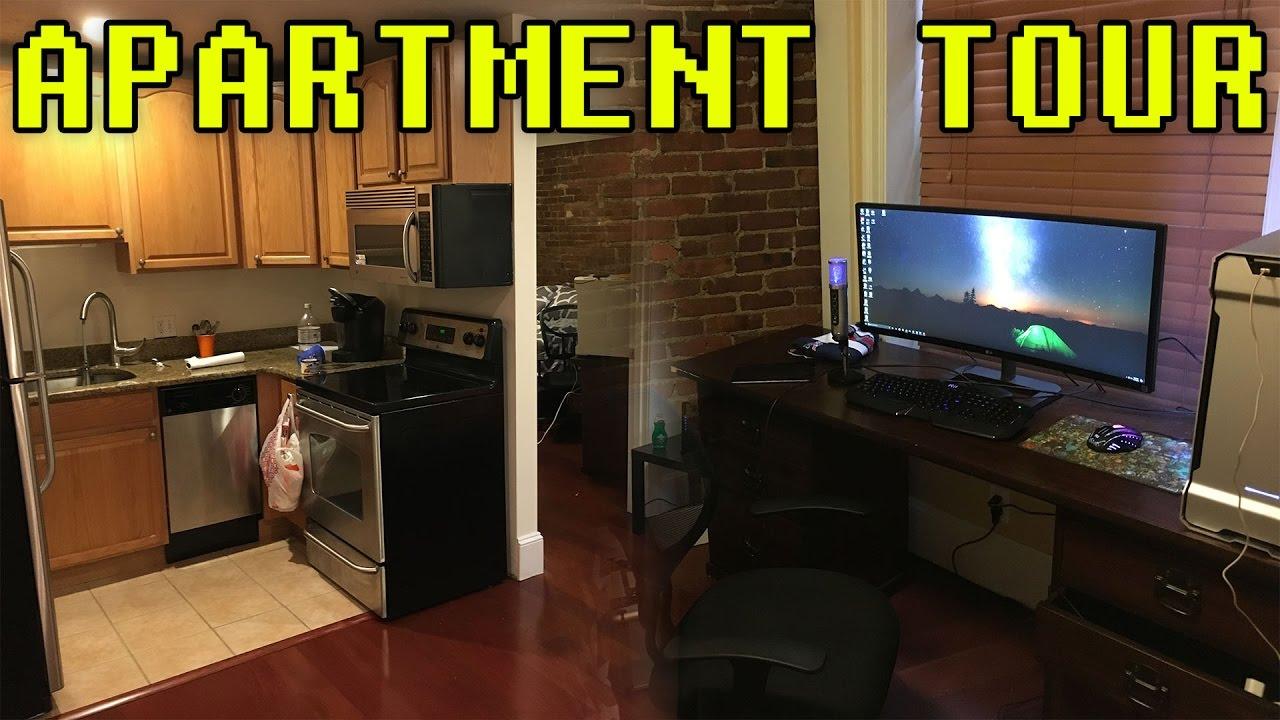 apartment tour & special surprise!!! - youtube