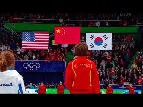 National Anthem of China - Hymne National Chinois (Winter Olympics 2010 - short track)