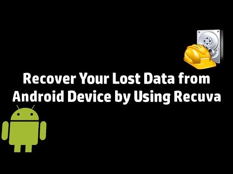Recover Your Lost Data From Android Device By Using Recuva