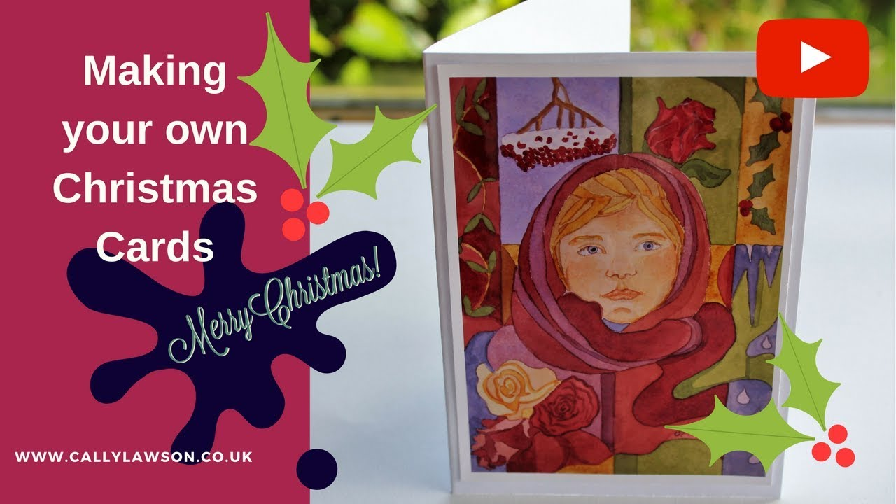 How to make your own christmas cards print from your for How to make your own christmas cards