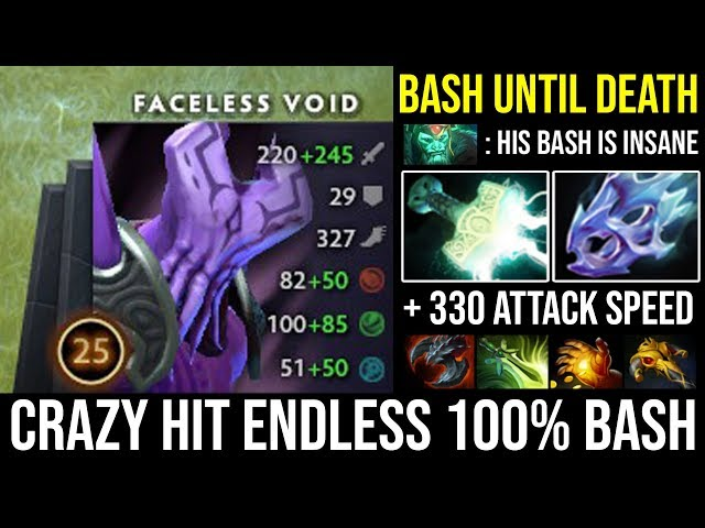 Madness + 330 Attack Speed Crazy Hit Endless Bash Until