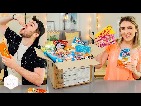 American Candy Overload From A Subscriber Part 3 - In The Kitchen With Kate