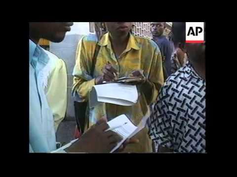 CONGO: THOUSANDS OF REFUGEES RETURN FROM KINSHASA