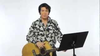 """How to Sing like Elvis Presley - """"Can't Help Falling in Love"""" karoake lyrics"""