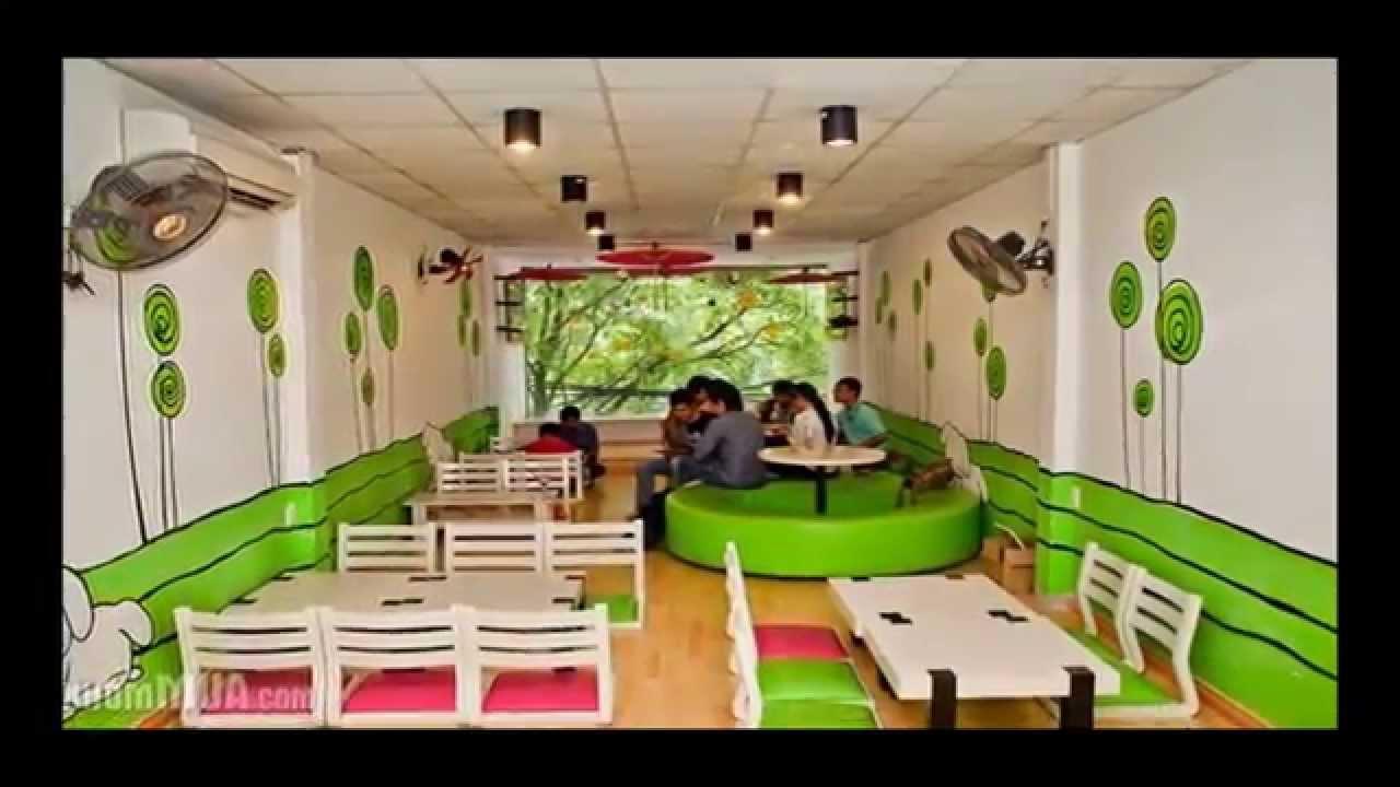 [Liên.hệ Thắng 0906.700.004] Vẽ Tranh Tường Quán Cafe ở Biên Hòa