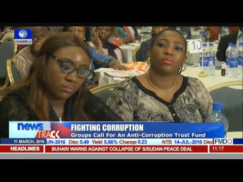 Fighting Corruption: Groups Call For An Anti-Corruption Trust Fund