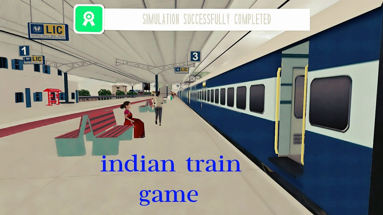 Indian train driving game
