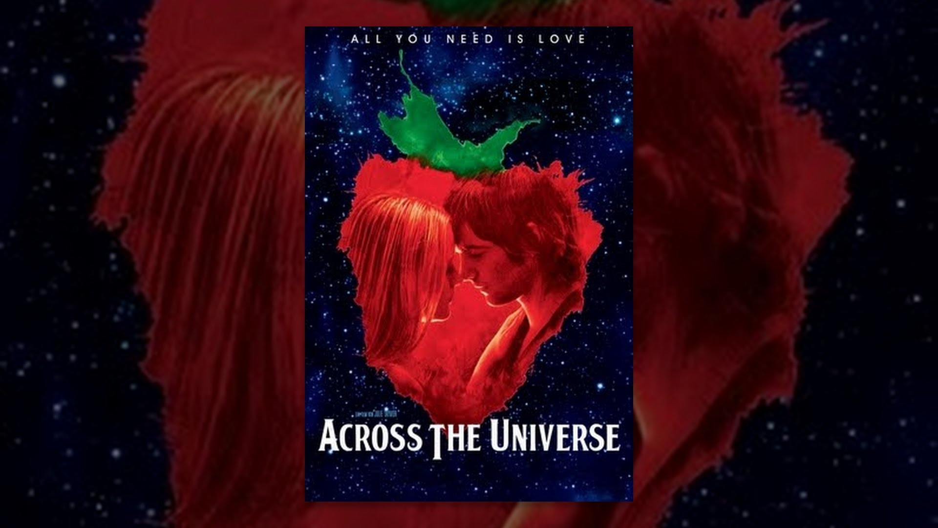across the universe Across the universe is a musical romantic drama film directed by julie taymor, produced by revolution studios, and distributed by columbia pictures it was released in the united states on october 12, 2007.